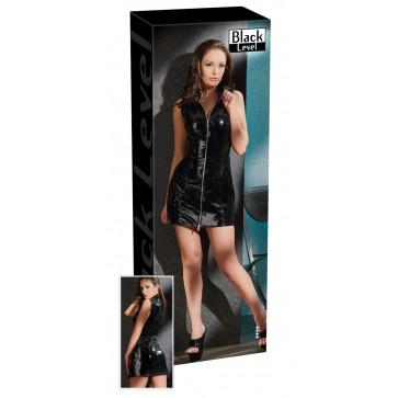 2850354 Vinyl Dress with Zip