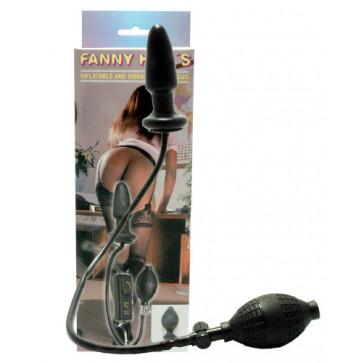 Анальная пробка - Fanny Hills Black Butt Plug