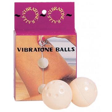Вагинальные шарики - Plastic Balls, слоновая кость