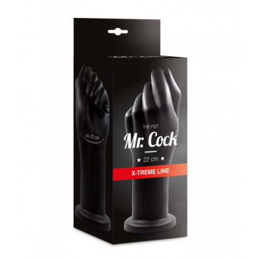 Анальная пробка - Mr. Cock X-Treme Line Fist Anal Plug PVC black, 22 см