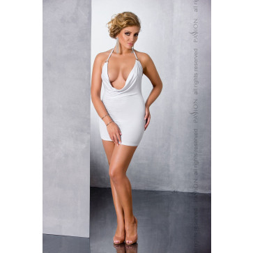 Пеньюар MIRACLE CHEMISE white 4XL/5XL - Passion