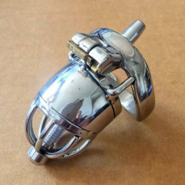 Stainless Steel Male Chastity Device / Stainless Steel Chastity Cage