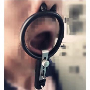 BDSM Кляп. Открытый рот