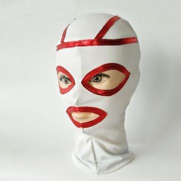 Белая латексная маска