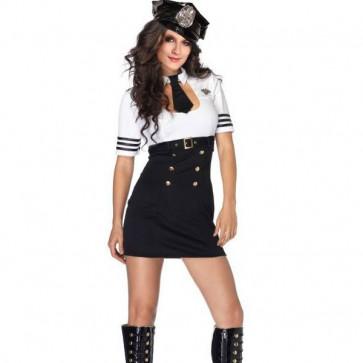 Sexy Pilot Captain Costume
