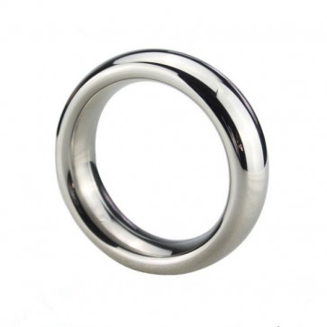 Stainless Steel Donut Cock Ring