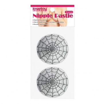 Reusable Spider Glittering Sexy Nipple Pasties