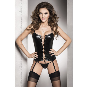 Корсет BES CORSET black XXL/XXXL - Passion Exclusive