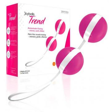 Вагинальные шарики - Joyballs, pink/white