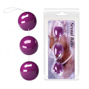 Анальные шарики - Anal Balls, Pink, Blue, Purple