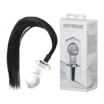 Анальная пробка - JOYRIDE Premium GlassiX 16