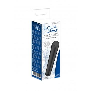 Анальный душ - AQUAstick  intimate douche attachment, black anodised, with shower hose