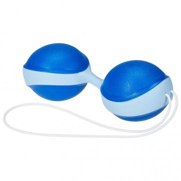 Вагинальные шарики - Amor Gym Balls, синий/голубой