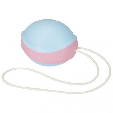 Вагинальный шарик - Amor Gym Ball Single, голубой/розовый
