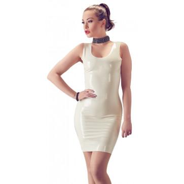 2900173 Latex Mini Dress - white