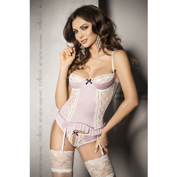 Корсет SHANTI CORSET pink S/M - Passion Exclusive