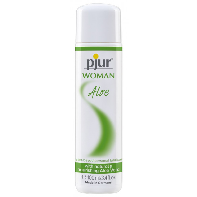 Лубрикант - Pjur Woman Aloe Waterbased, 100 мл - [Фото 1]